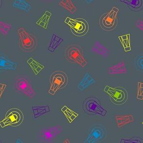 Neon Firefly Scatter