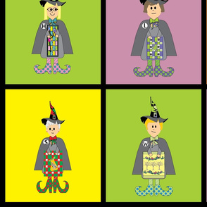 witches quilts