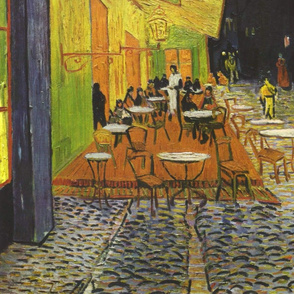 van Gogh - Cafe Terrace at Night (1888)