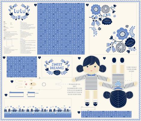lulu fabric by stacyiesthsu on Spoonflower - custom fabric