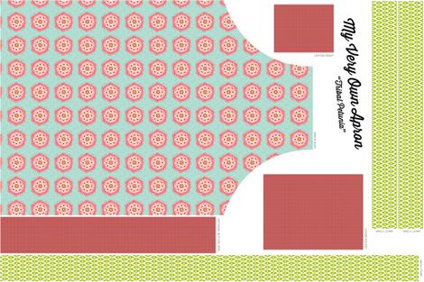 Tribal Petunia Apron fabric by brainsarepretty on Spoonflower - custom fabric