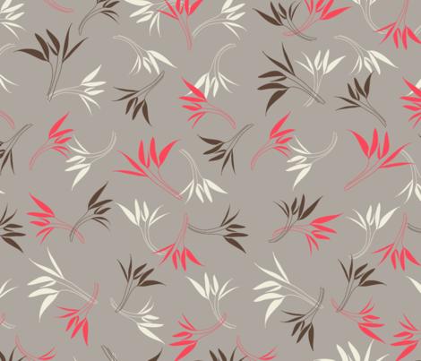 Hyacinthe 5med fabric by motifs_et_cie on Spoonflower - custom fabric