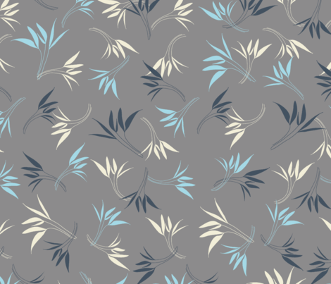 Hyacinthe 7med fabric by motifs_et_cie on Spoonflower - custom fabric