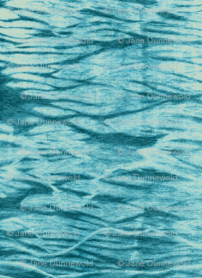 Turquoise Ripples