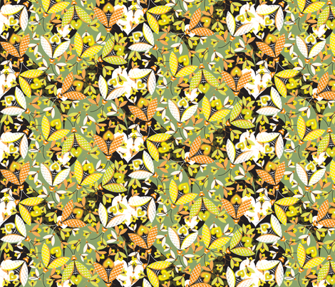 Hedge Glow fabric by paula's_designs on Spoonflower - custom fabric