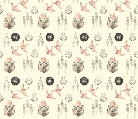 Carnivale Circus fabric by miorats on Spoonflower - custom fabric