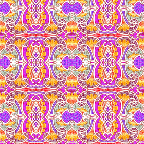 What Happens When You Eat Those Mushrooms fabric by edsel2084 on Spoonflower - custom fabric