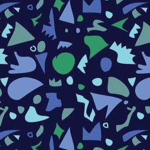 Dinosaur pieces