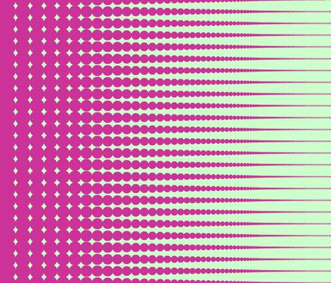 "Sherbet Halftone (42"" wide fabric) fabric by unicorgi on Spoonflower - custom fabric"
