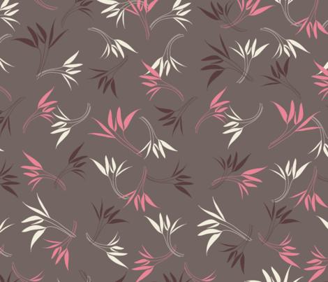 Hyacinthe 4med fabric by motifs_et_cie on Spoonflower - custom fabric