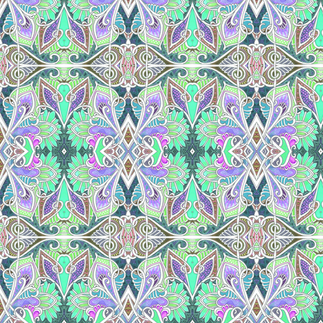 Somewhere Over the Rainbow and Past the Woods fabric by edsel2084 on Spoonflower - custom fabric