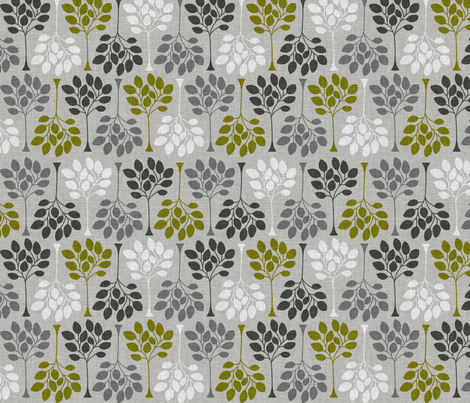 FOREST_DRIVE_ELM fabric by glorydaze on Spoonflower - custom fabric