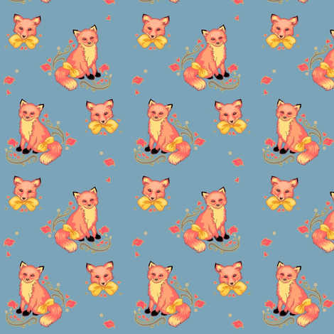 Foxypants! fabric by plaid-hippo on Spoonflower - custom fabric