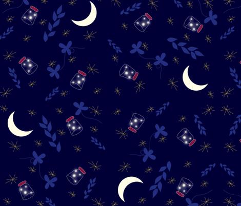 Summer_lights fabric by yasminah_combary on Spoonflower - custom fabric