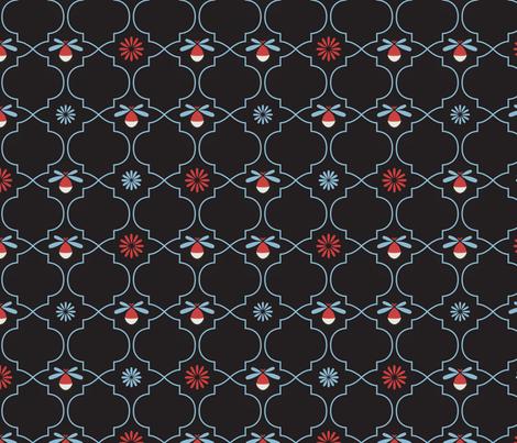 Firefly Night fabric by karapeters on Spoonflower - custom fabric