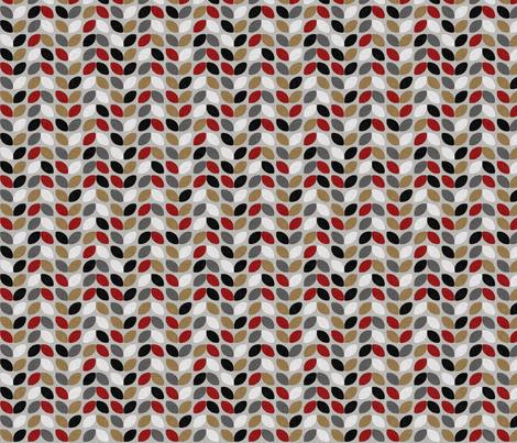 URBAN_WINTER_ivy fabric by glorydaze on Spoonflower - custom fabric