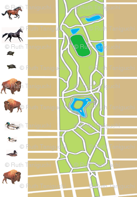 map of golden gate park