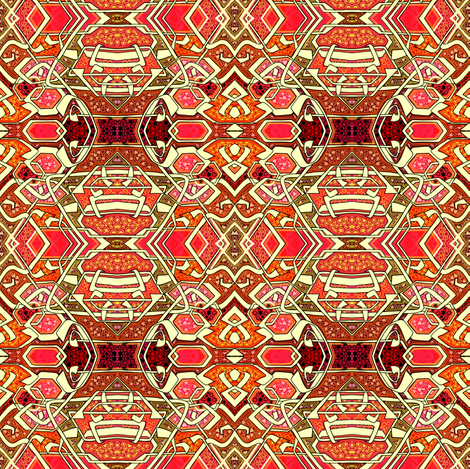 Modern Jazz #8 fabric by edsel2084 on Spoonflower - custom fabric