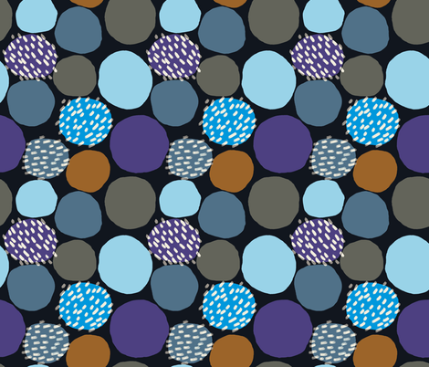 Spots and Dots /04 fabric by elizabeth_hale_design on Spoonflower - custom fabric