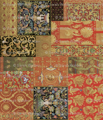 Henry VIII Was A Cheater ... Quilt ~ Rotated