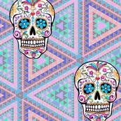 Sugar Aztec Skull