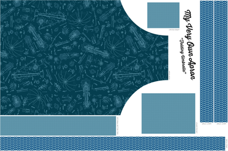 Folding Umbrella Apron fabric by brainsarepretty on Spoonflower - custom fabric