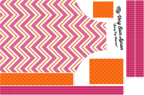 Berry Pop Apron fabric by brainsarepretty on Spoonflower - custom fabric
