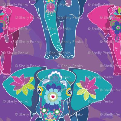 Fauvist Elephant Festival