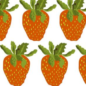 große Erdbeeren,