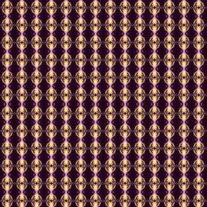 Geometric 0195 k1 r1 brown, wine, pink