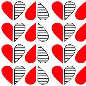 Op Hearts Red