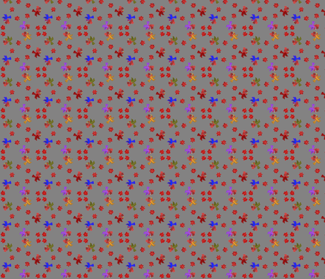 Hummingbird Circles fabric by ravynscache on Spoonflower - custom fabric