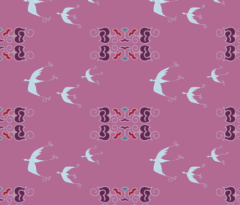 Expedition - Birds fabric by reikahunt on Spoonflower - custom fabric