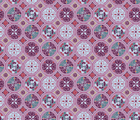 Expedition - Circles fabric by reikahunt on Spoonflower - custom fabric