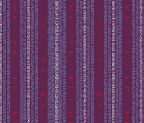 Expedition - Stripes Plum fabric by reikahunt on Spoonflower - custom fabric