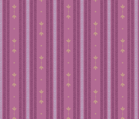 Expedition - Stripes Mauve fabric by reikahunt on Spoonflower - custom fabric