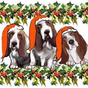 basset_hound_Christmas_