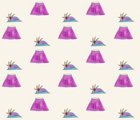 Hat skirt fabric by trulyjuel on Spoonflower - custom fabric