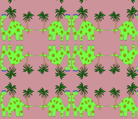 DinoIsland fabric by americalynne on Spoonflower - custom fabric