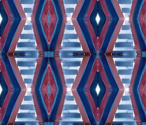 cestlaviv_bluesteps fabric by cest_la_viv on Spoonflower - custom fabric