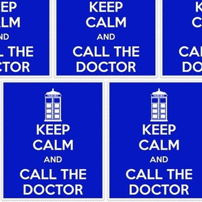 Keep Calm Call the Doctor - panel