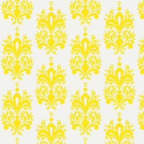 Duchess Damask - Lemon