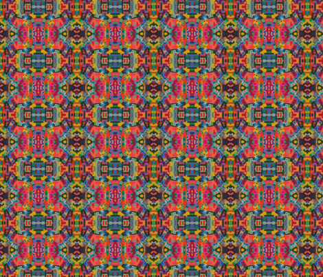 The Toy Village fabric by ediecohn on Spoonflower - custom fabric