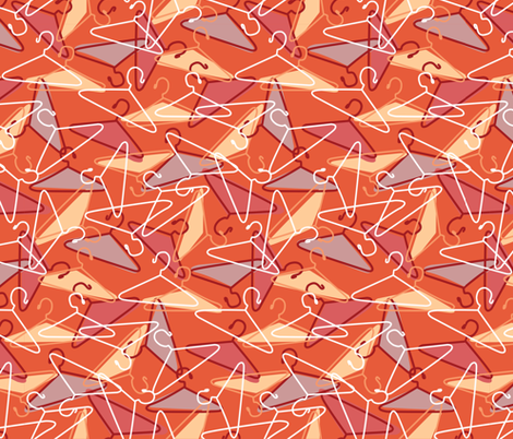 Hanger Out To Dry fabric by ohgnomegirl on Spoonflower - custom fabric