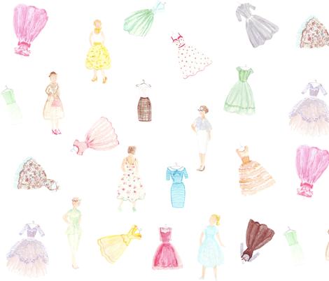 Fabulous '50s fabric by graceful on Spoonflower - custom fabric