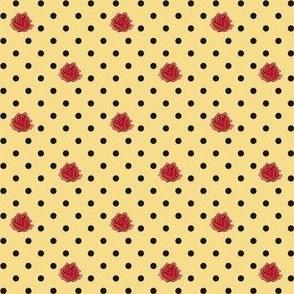 "Tattoo Roses - 1/2"""