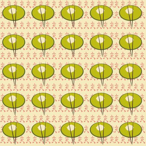 Dumplings fabric by karenharveycox on Spoonflower - custom fabric