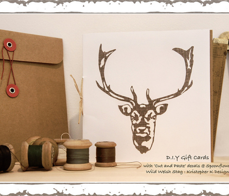 Wild Welsh Stag - Small