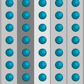 Blue Grey Exterminate Dots