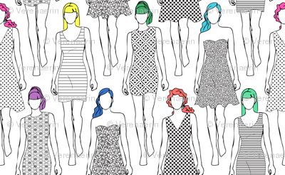 All the Printed Dresses